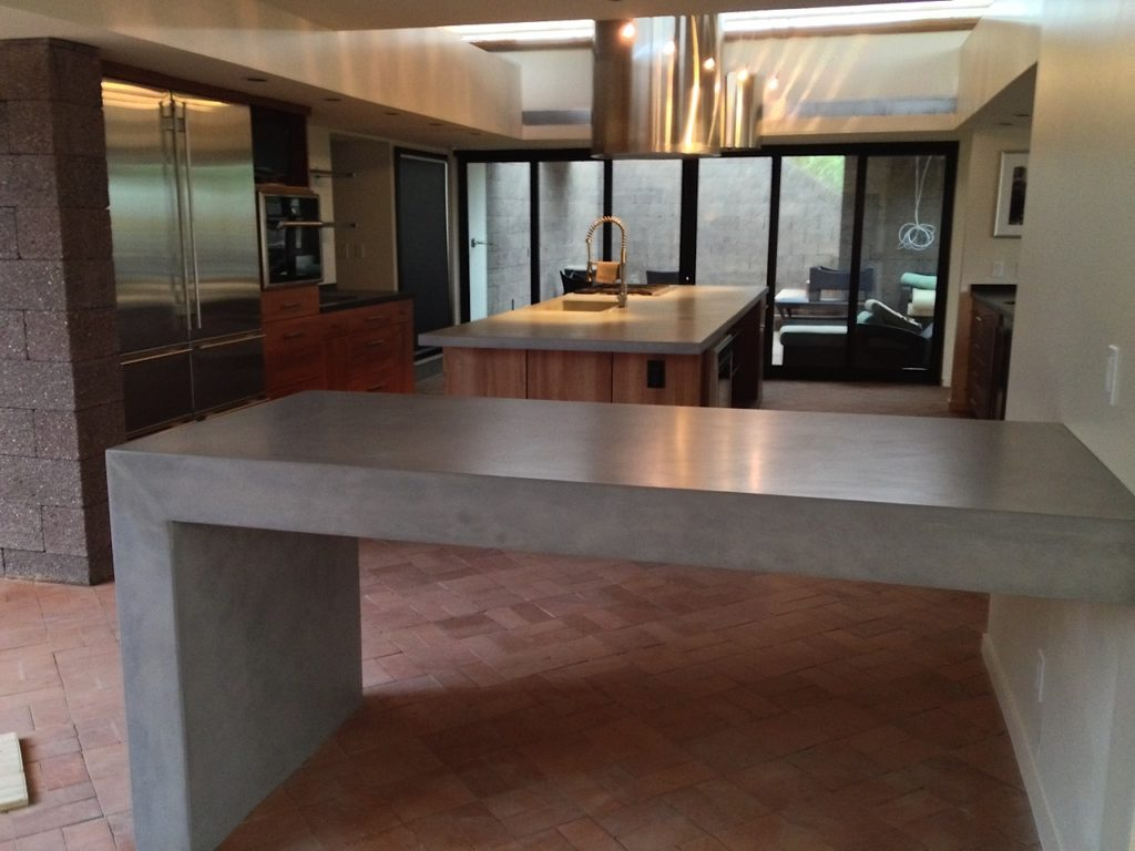 Concrete Kitchen Tables-Tampa Custom Concrete Pros-We offer custom concrete solutions, Polished concrete, Stained concrete, Epoxy Floor, Sealed concrete, Stamped concrete, Concrete overlay, Concrete countertops, Concrete summer kitchens, Driveway repairs, Concrete pool water falls, and more
