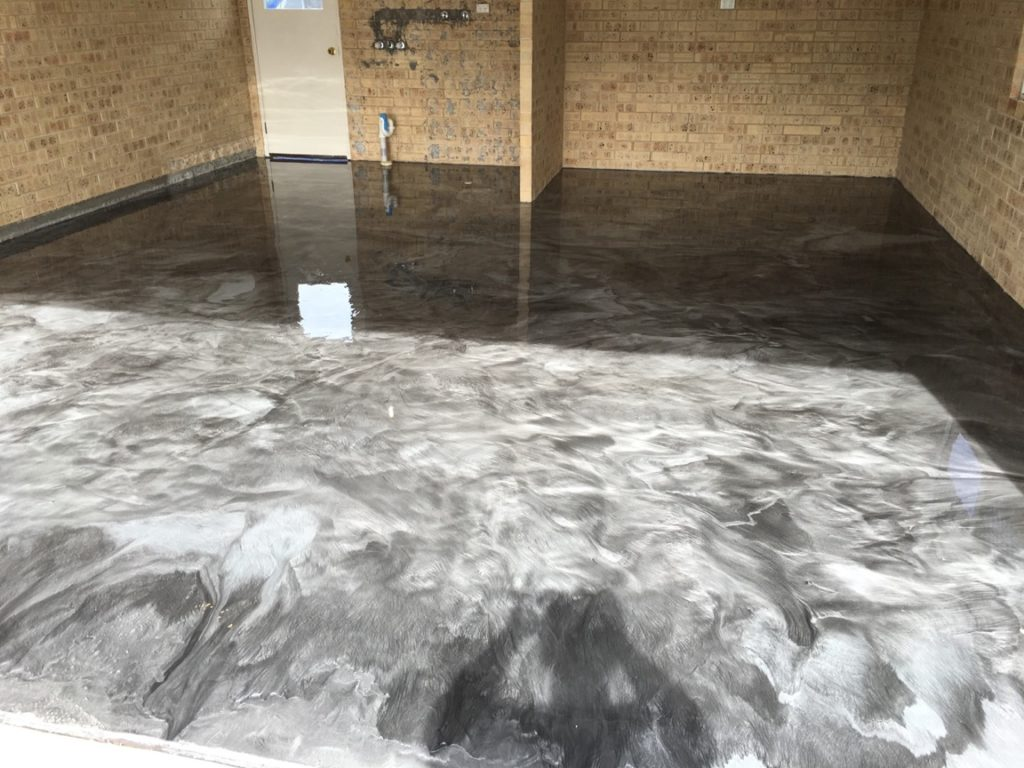 Concrete Metallic Epoxy-Tampa Custom Concrete Pros-We offer custom concrete solutions, Polished concrete, Stained concrete, Epoxy Floor, Sealed concrete, Stamped concrete, Concrete overlay, Concrete countertops, Concrete summer kitchens, Driveway repairs, Concrete pool water falls, and more
