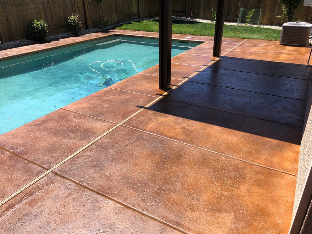 Concrete Pool Decks-Tampa Custom Concrete Pros-We offer custom concrete solutions, Polished concrete, Stained concrete, Epoxy Floor, Sealed concrete, Stamped concrete, Concrete overlay, Concrete countertops, Concrete summer kitchens, Driveway repairs, Concrete pool water falls, and more