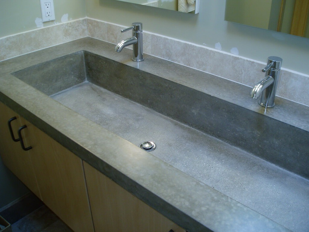 Custom Concrete Sinks-Tampa Custom Concrete Pros-We offer custom concrete solutions, Polished concrete, Stained concrete, Epoxy Floor, Sealed concrete, Stamped concrete, Concrete overlay, Concrete countertops, Concrete summer kitchens, Driveway repairs, Concrete pool water falls, and more