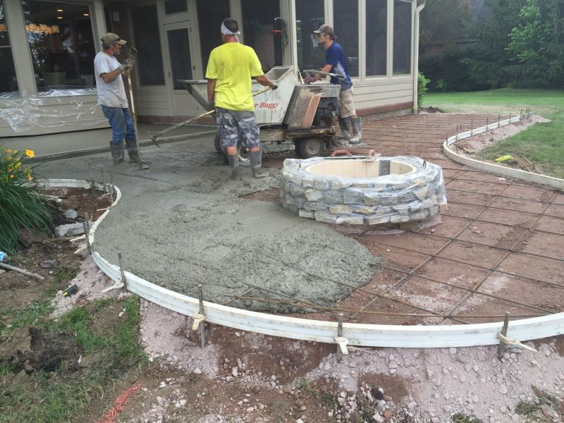 Keystone-Tampa Custom Concrete Pros-We offer custom concrete solutions, Polished concrete, Stained concrete, Epoxy Floor, Sealed concrete, Stamped concrete, Concrete overlay, Concrete countertops, Concrete summer kitchens, Driveway repairs, Concrete pool water falls, and more