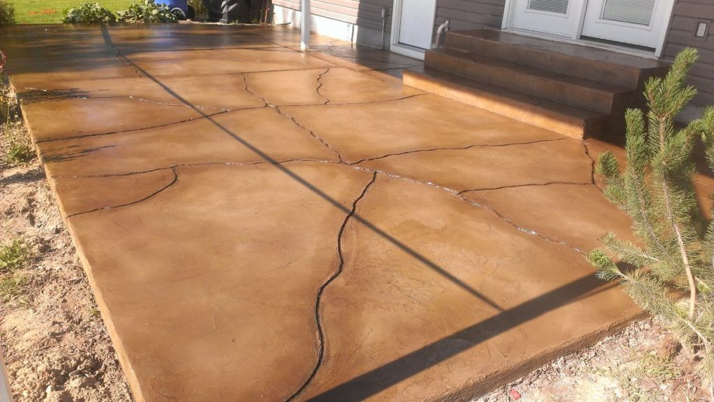 Patio Resurfacing-Tampa Custom Concrete Pros-We offer custom concrete solutions, Polished concrete, Stained concrete, Epoxy Floor, Sealed concrete, Stamped concrete, Concrete overlay, Concrete countertops, Concrete summer kitchens, Driveway repairs, Concrete pool water falls, and more