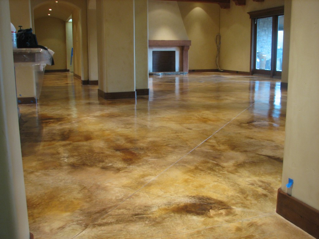 Stained Concrete-Tampa Custom Concrete Pros-We offer custom concrete solutions, Polished concrete, Stained concrete, Epoxy Floor, Sealed concrete, Stamped concrete, Concrete overlay, Concrete countertops, Concrete summer kitchens, Driveway repairs, Concrete pool water falls, and more