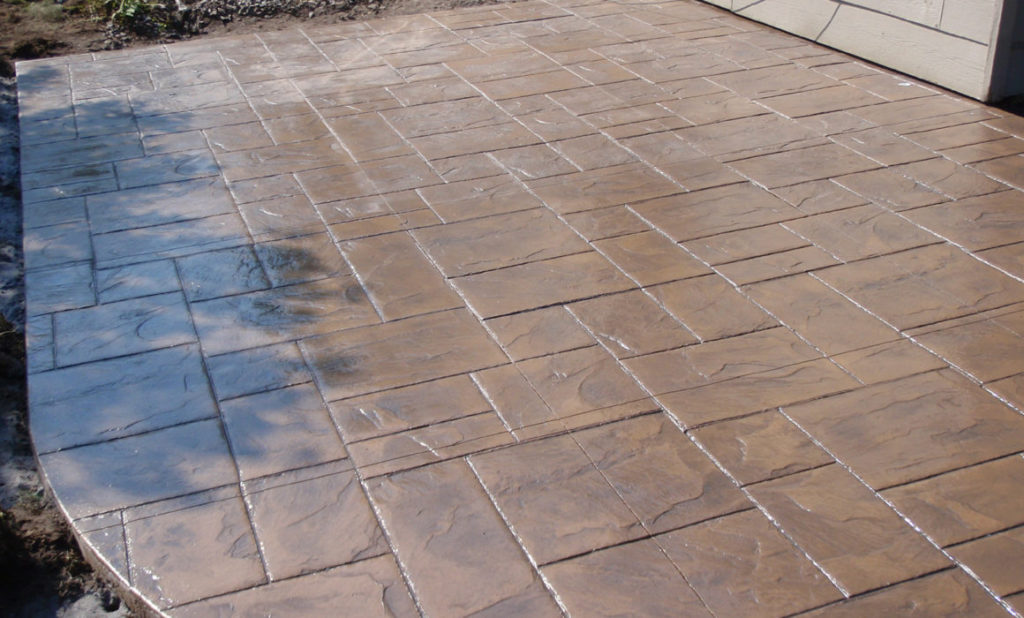 Stamped concrete-Tampa Custom Concrete Pros-We offer custom concrete solutions, Polished concrete, Stained concrete, Epoxy Floor, Sealed concrete, Stamped concrete, Concrete overlay, Concrete countertops, Concrete summer kitchens, Driveway repairs, Concrete pool water falls, and more